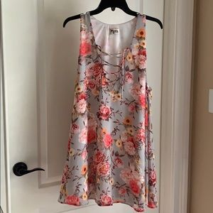 Show Me Your Mumu floral sleeveless Tunic tank